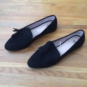 H&M tasseled loafers